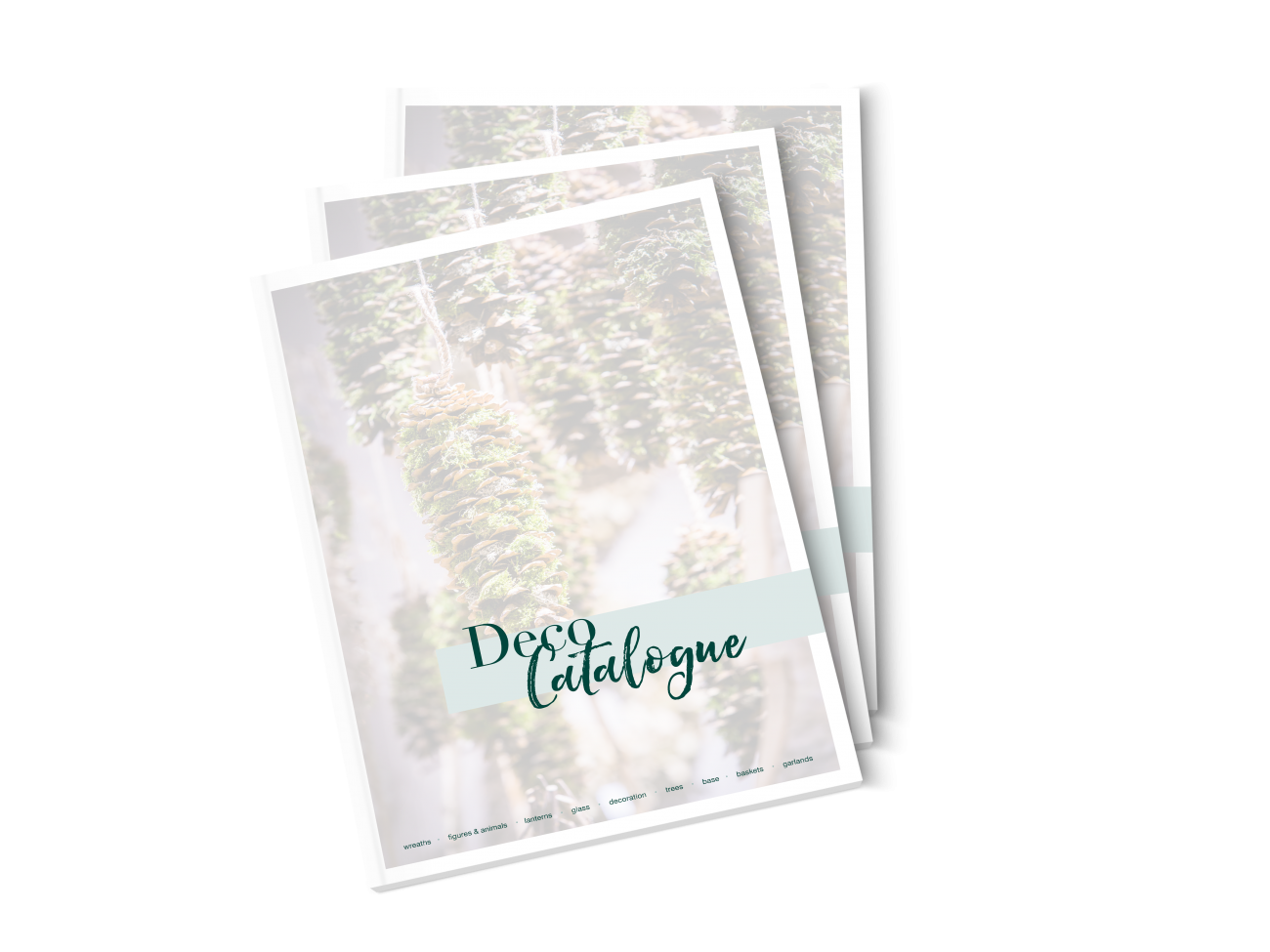 Deco Catalogue Cover mockup